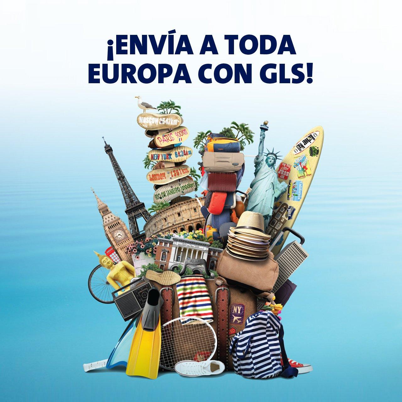 Envía a toda Europa GLS